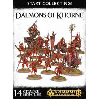 70-97 Daemons of Khorne - Start Collecting!