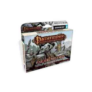 Fortress of Stone Giants Adventure Deck (Rise of the Runelords Adventure Deck 4)