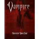 Vampire the Requiem - Character Sheet Pad