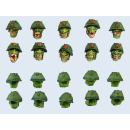 Goblin Troopers Heads Set (10)