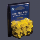 Wooden Tokens Yellow (50)