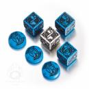 Kingsburg Würfelset Blau