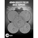Guild Ball 40mm Grassy Fields Resin Base Troopers (5)