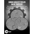 Guild Ball 50mm Grassy Fields Resin Base Troopers (3)