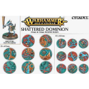 66-96 Shattered Dominion: 25 & 32mm Round Bases
