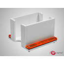 E-Raptor Card Holder - 1S Solid White