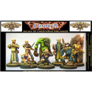 Dungeon Twister Miniatures set (8) (Rot)
