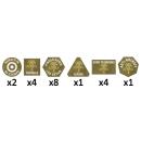 Afrika Korps Tokens (20)