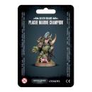 43-48 Death Guard Plague Marine Champion (Seuchenchampion)
