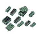 Kunststoffboxen mit Munition - Set 1