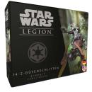 Star Wars Legion - 74-Z Düsenschlitten Erweiterung