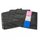 Blackfire 24-Pocket Pages - Black - Toploading (10)