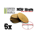 60x35mm ovale MDF Basen