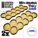 Movement Trays 32mm (Skirmish 10)
