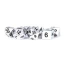 16mm Metal Polyhedral Dice Set: Silver