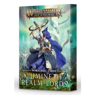 87-03-04 Schriftrollenkarten: Lumineth Realm-Lords (alt)
