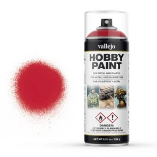 Vallejo Hobby Paint Spray Bloody Red (400ml)