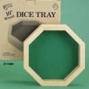 """Wood Dice Tray 10"""""""