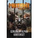 Mutant: Jahr Null - Genlabor Alpha Kartenset