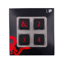 Heavy Metal D6 4x Dice Set for Dungeons & Dragons