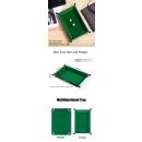 Rectangle Folding Dice Tray (Green)