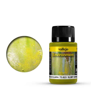 Vallejo Weathering Effects Environment Slimy Green Light 40 ml