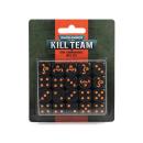102-82 WH40K Kill Team: Ork Commando Dice Set