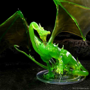 D&D Icons of the Realms: Adult Emerald Dragon Premium...