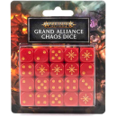 80-22 Age of Sigmar: Grand Alliance Chaos Dice Set