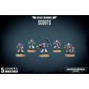 48-16 Space Marine Scout Trupp
