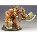 Minotaur with axes